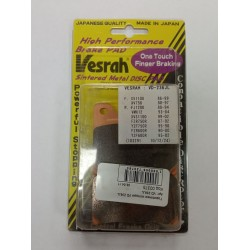 Тормозные колодки на YAMAHA VESRAH VD 236 JL