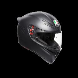 Шлем К-1 AGV E2205 SOLID MATT BLACK ML