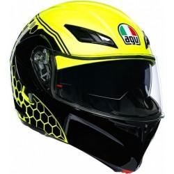 Шлем AGV COMPACT ST E2205 MULTI PLK 015 - DETROIT YELLOW FLUO/BLACK S