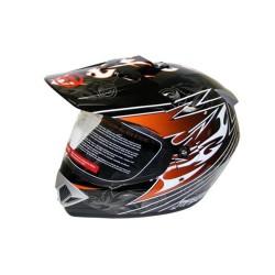 Закрытый шлем CFMOTO V370 оранжевый