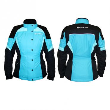 Куртка квадроциклетная утеплённая женская CFMOTO FASH JACKET синяя