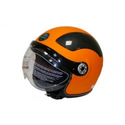 Открытый шлем CFMOTO V580 оранжевый